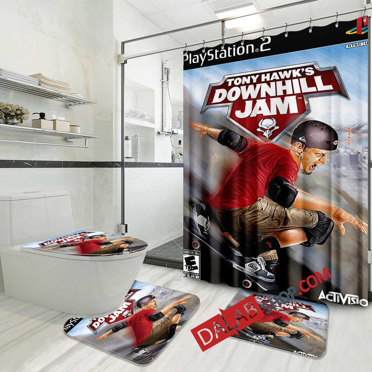 Aggressive Inline PS2 GAME D 3D Customized Personalized Bathroom Sets