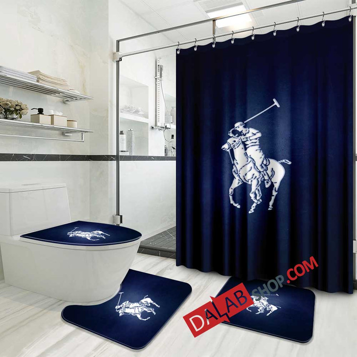Luxury Brand POLO ASSASSIN D 3D Customized Personalized Bathroom Sets
