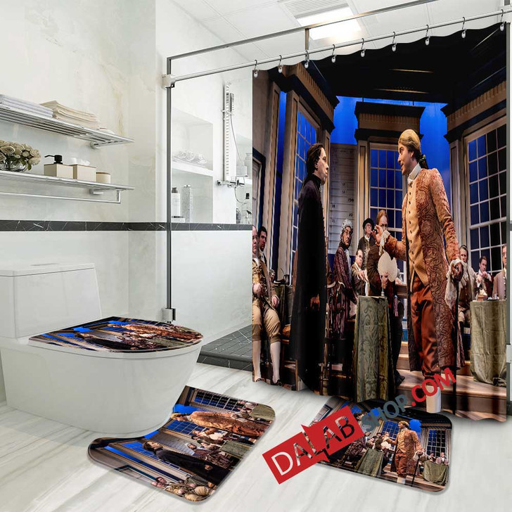 1776 Broadway Show N 3D Customized Personalized Bathroom Sets