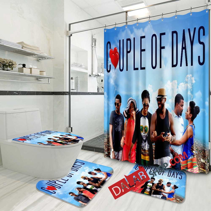 Movie Couple of Days N 3D Customized Personalized Bathroom Sets