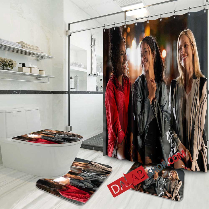 Netflix Movie Someone Great n 3D Customized Personalized Bathroom Sets