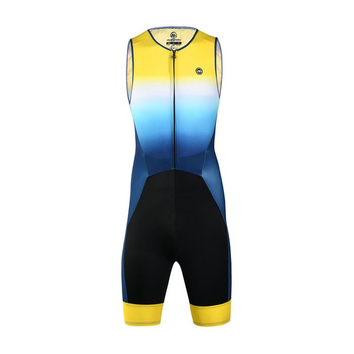 Men's 2019 Pro Fluffy Sleeveless Triathlon Suit