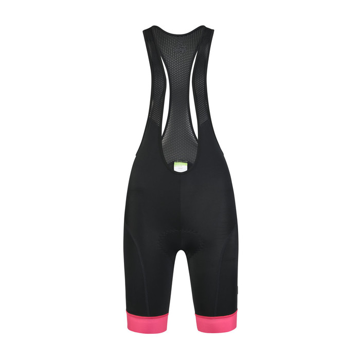Women's 2019 Urban+ Monchhi bib shorts - black/pink