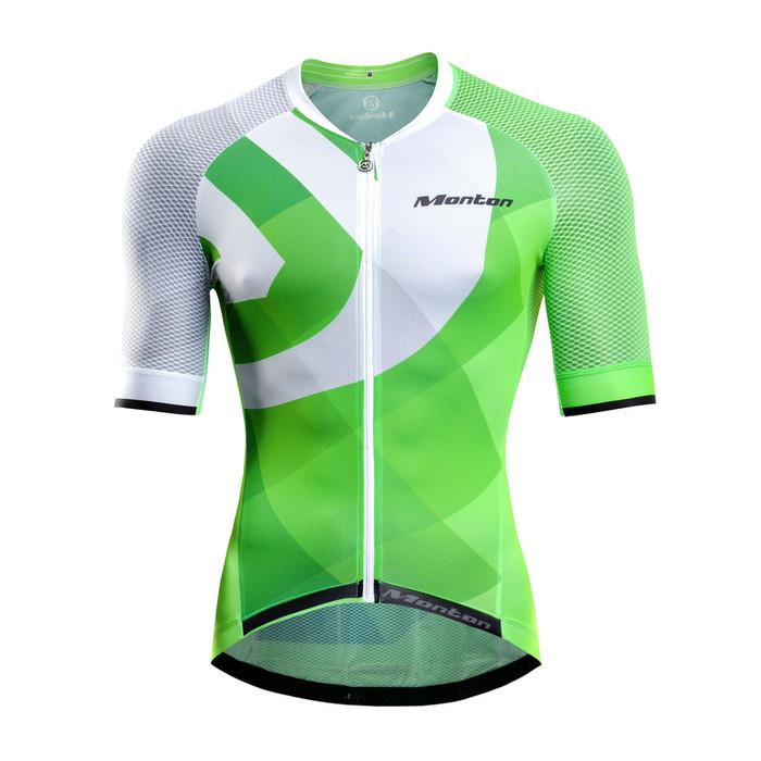Men's PRO ARG Fluorescent Green S/S Jersey