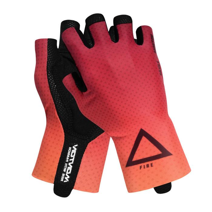 Fire half finger Gloves