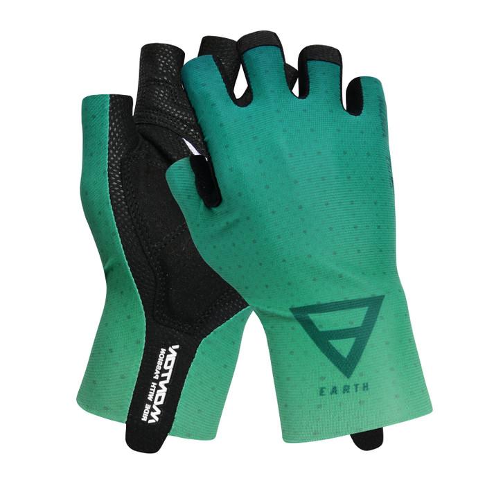 Earth half finger Gloves