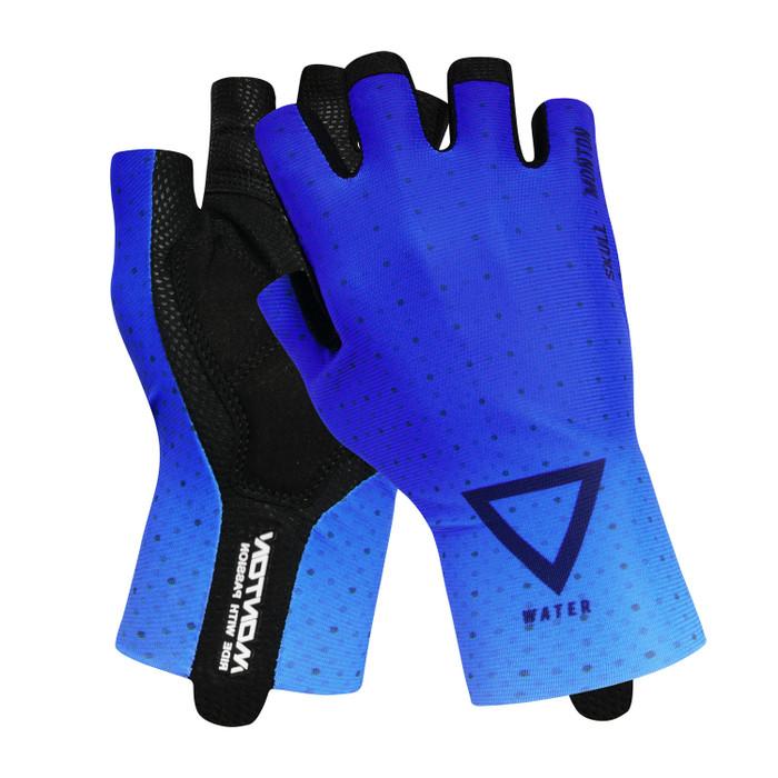 Lifestyle 2019 Water half finger Gloves - blue