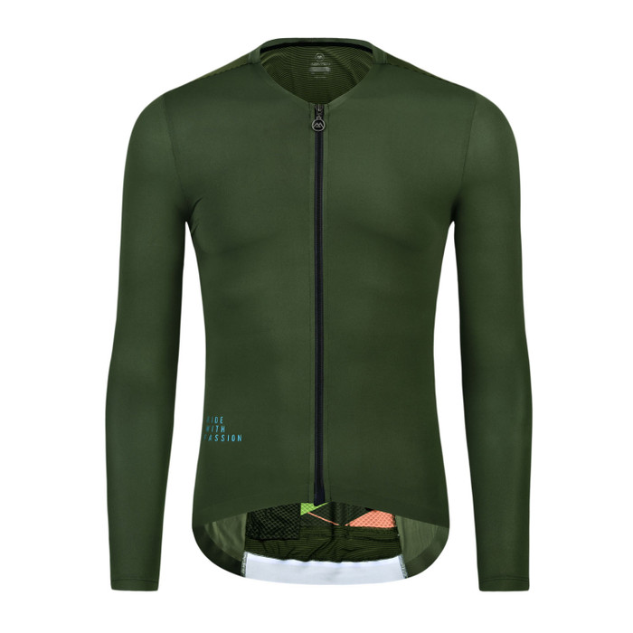Men's 2019 Pro Traveler III l/s Jersey - olive green