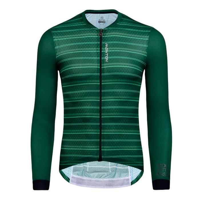 Men's 2019 Pro Sanger l/s Jersey - green
