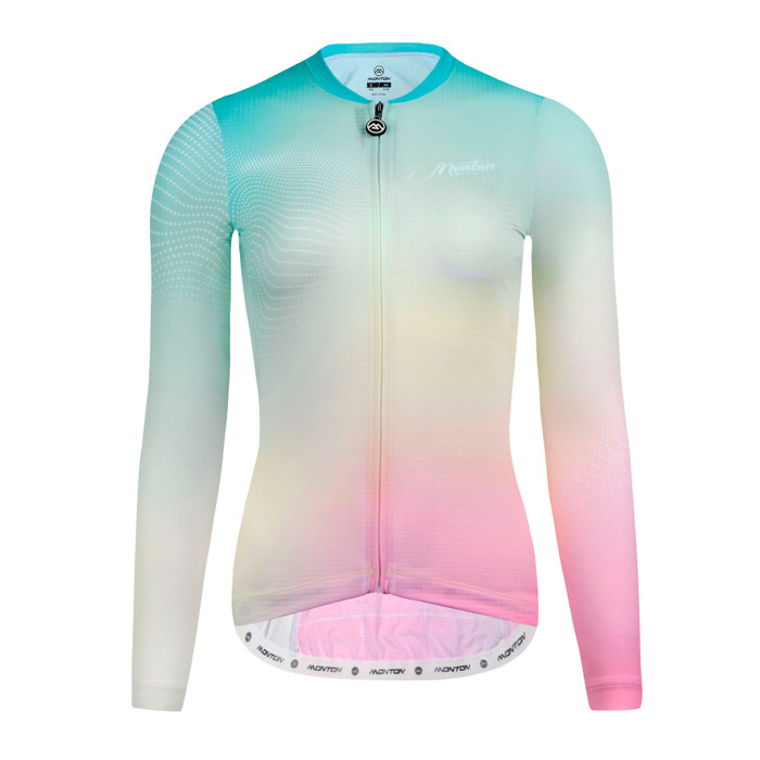 Women's 2019 Lifestyle Candy Color l/s Jersey - green