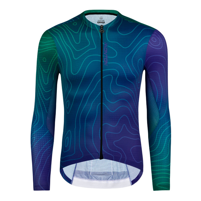 Men's 2019 Urban+ ContourLine l/s Jersey - blue/green