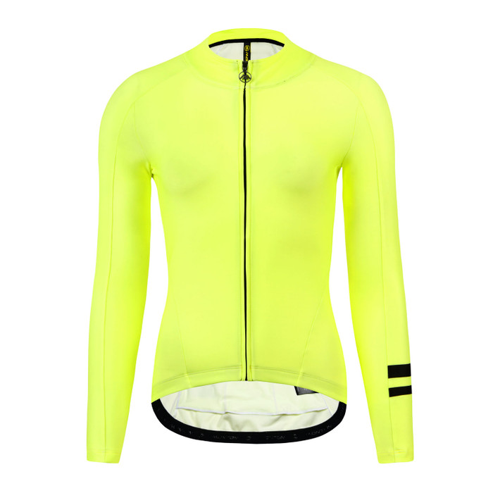 Women's 2019 Urban+ Aenei Thermal l/s Jersey - yellow