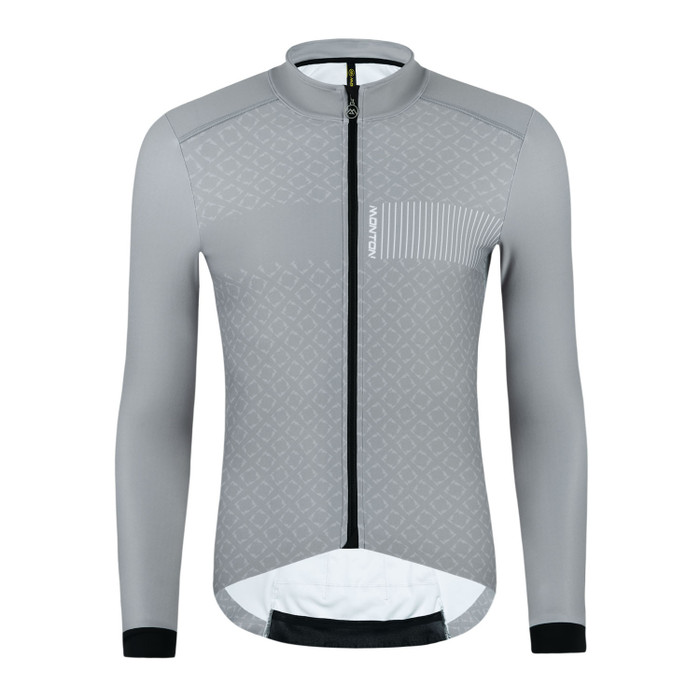 Men's 2019 Pro Piiku Thermal l/s Jersey - grey