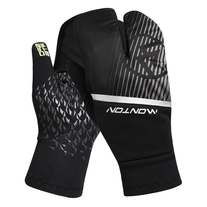 Pro Lenshow II Thermal Full Finger Gloves with Overmitt