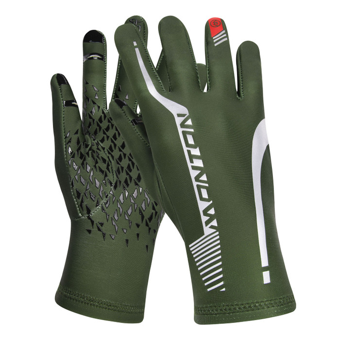 Pro Soar II Thermal Full Finger Gloves - green