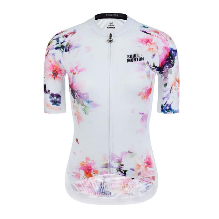 Women's Urban+ Ink Flower Jersey - white