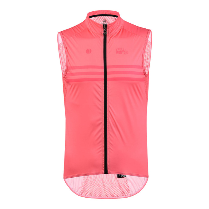 Men's Urban+ Colours Windproof Gilet - light coral