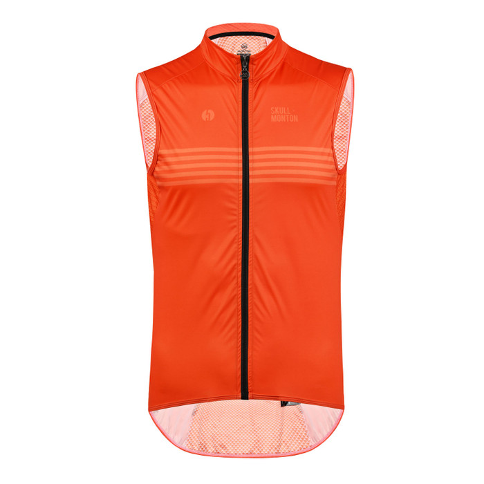 Men's Urban+ Colours Windproof Gilet - orange
