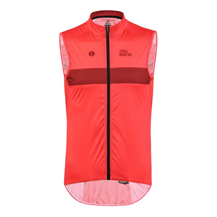 Men's Urban+ Colours Windproof Gilet - red