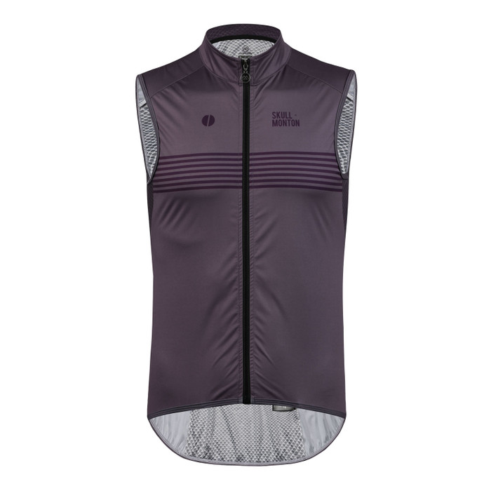 Men's Urban+ Colours Windproof Gilet - purple