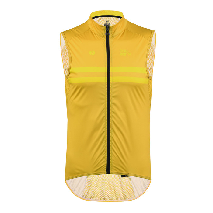 Men's Urban+ Colours Windproof Gilet - yellow