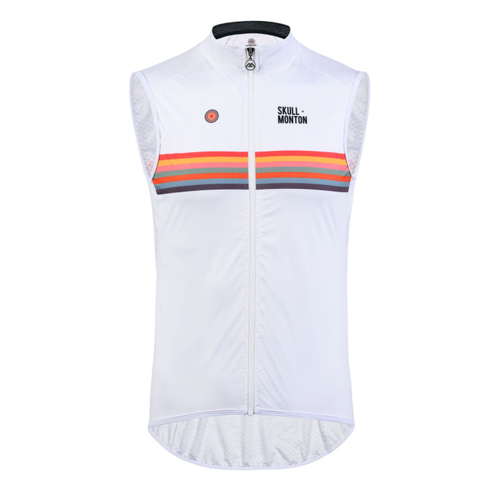Men's Urban+ Colours Windproof Gilet - white