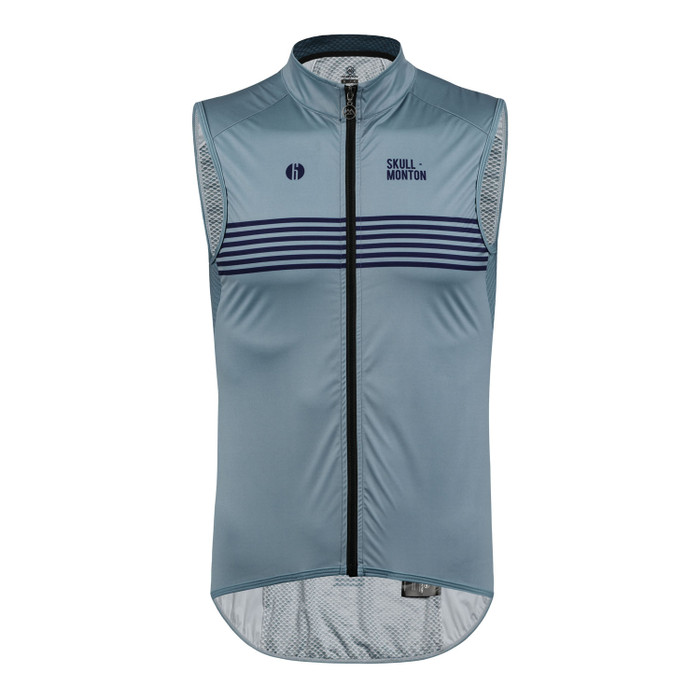 Men's Urban+ Colours Windproof Gilet - light steel blue
