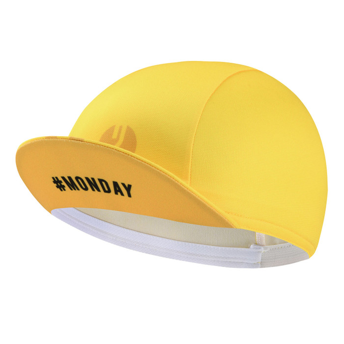 Urban+ Colours Cycling Cap - yellow