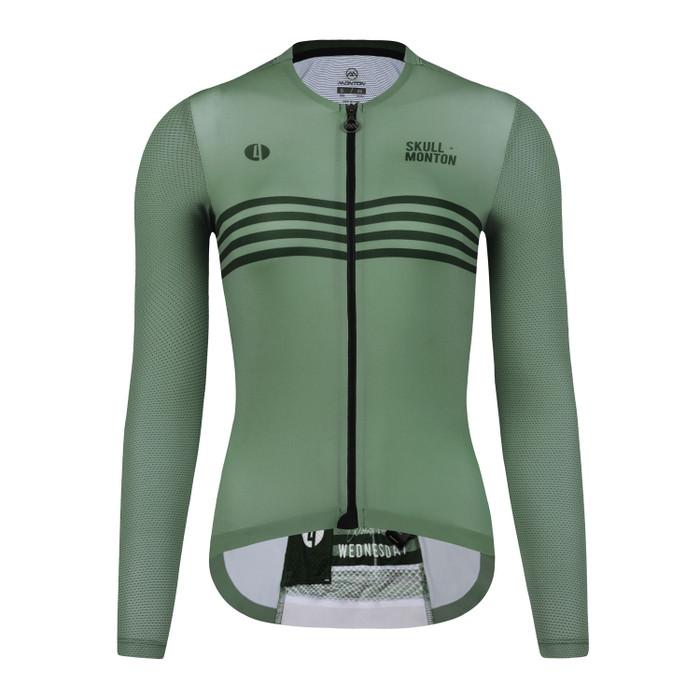 Women's Urban+ Colours l/s Jersey - grey/green