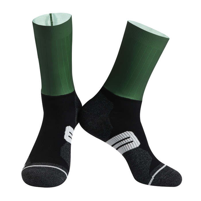 Urban+ Colours Coolmax Socks - grey/green