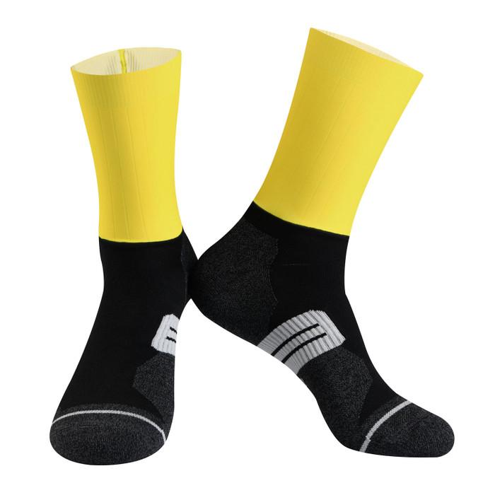 Urban+ Colours Coolmax Socks - yellow