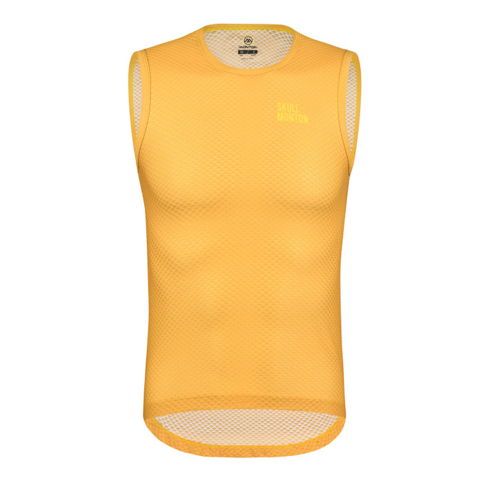 Men's Urban+ Colours Sleeveless Base Layer - yellow