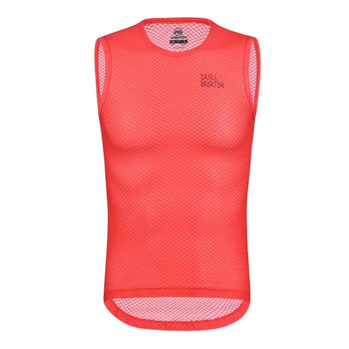 Men's Urban+ Colours Sleeveless Base Layer - red