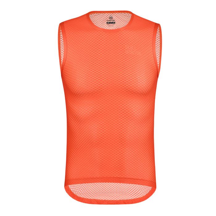 Men's Urban+ Colours Sleeveless Base Layer - orange