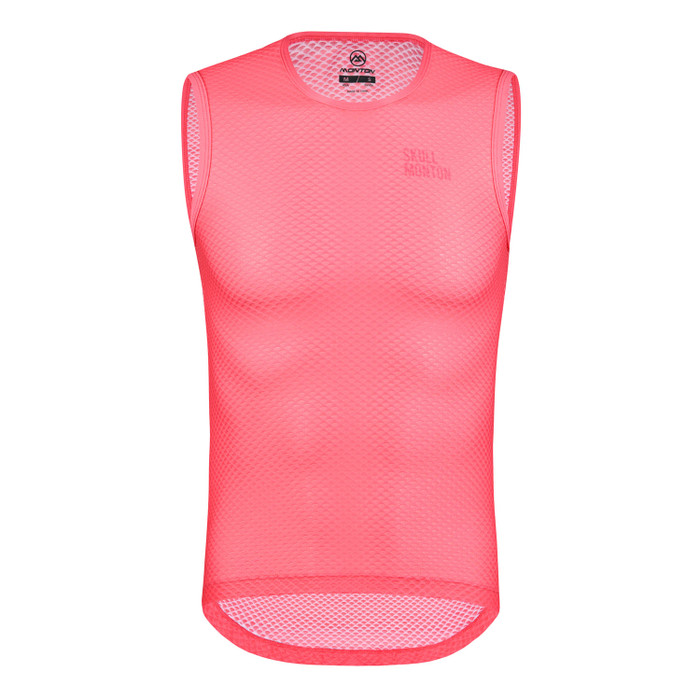 Men's Urban+ Colours Sleeveless Base Layer - light coral