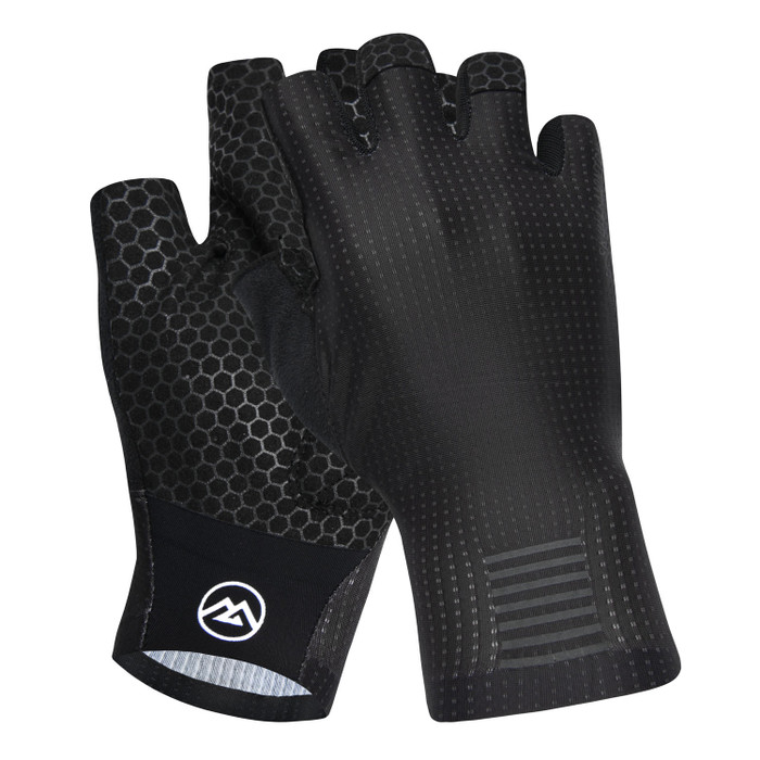 Urban+ Colours Half Finger Gloves - black