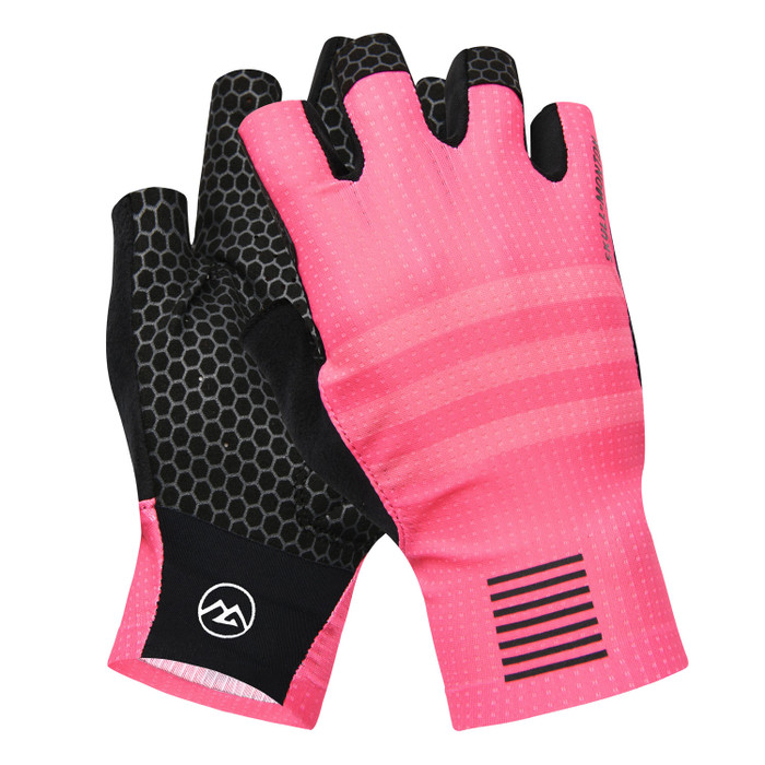 Urban+ Colours Half Finger Gloves - light coral
