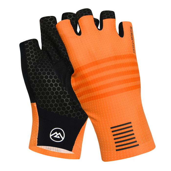 Urban+ Colours Half Finger Gloves - orange