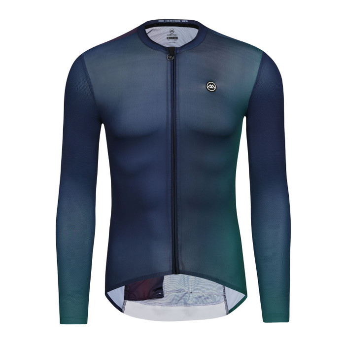 Men's Urban+ Aurora l/s Jersey - deep blue