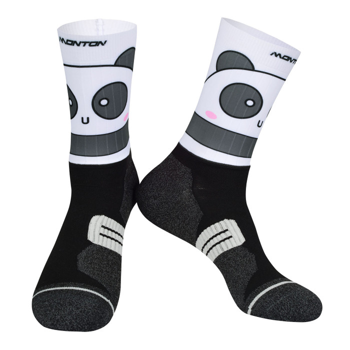 Panda Coolmax Socks - white