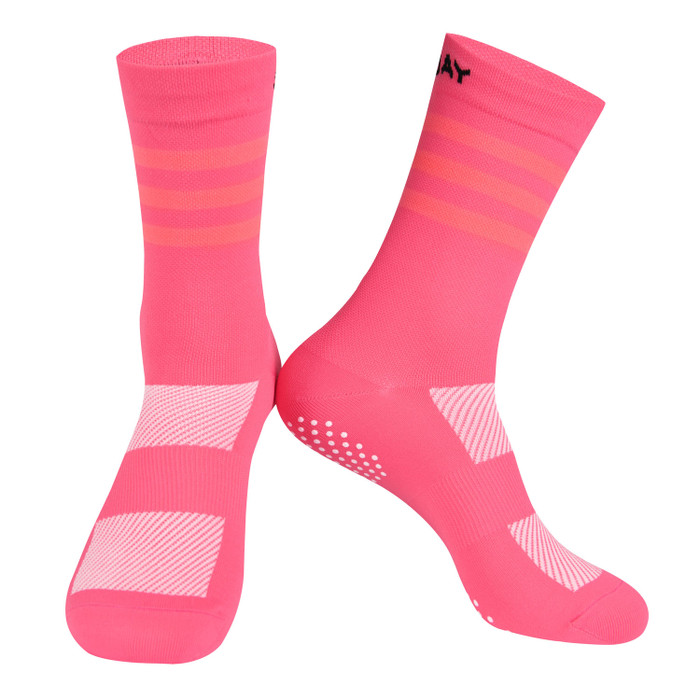 Colours Knitted Socks - light coral