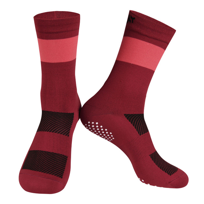 Colours Knitted Socks - red