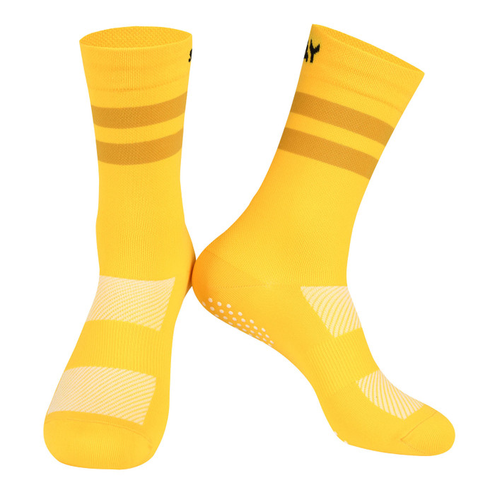 Colours Knitted Socks - yellow