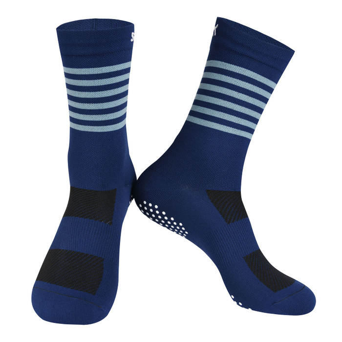 Colours Knitted Socks - light steel blue