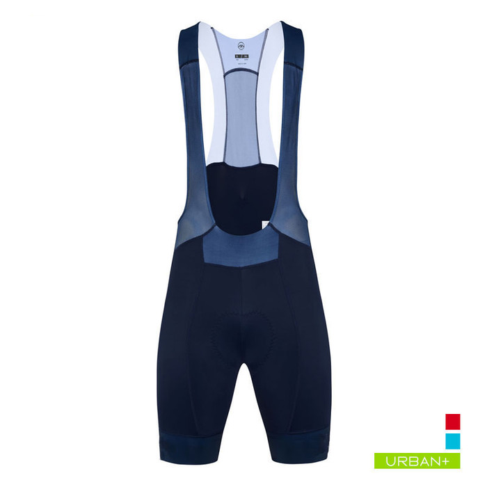 Men's Urban+ Suupaa Bib Shorts - blue