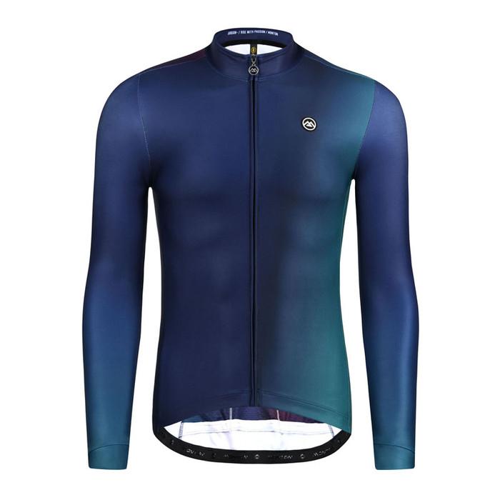 Men's Urban+ Aurora l/s Thermal Jersey - deep blue