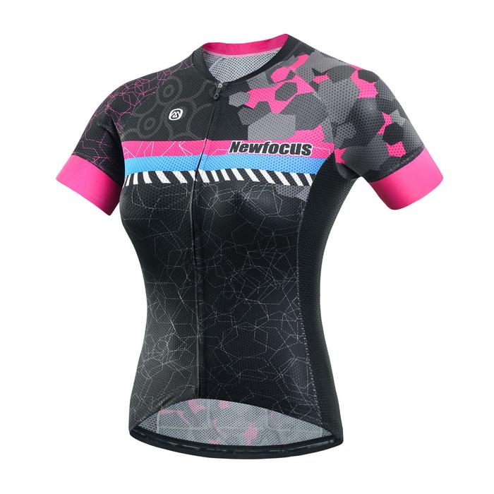 Women's RIDER Thunder Black/Pink S/S Jersey