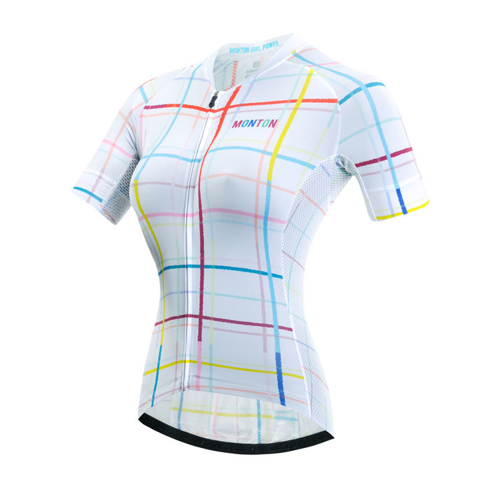 Women's RACE Dream Weaver White S/S Jersey