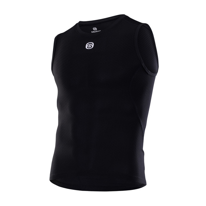 Men's Endless Sleeveless Base Layer - black
