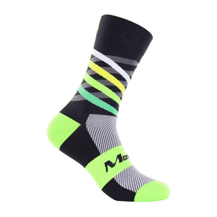 Dimensions green/yellow/black mix Socks